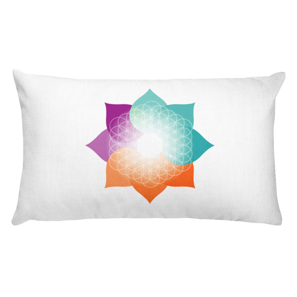 Meditation Life Rectangular Pillow