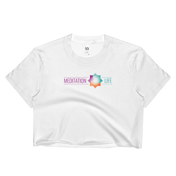 Meditation Life Ladies Crop Top