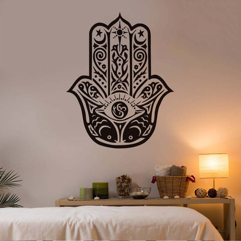 Hamsa Hand Vinyl Decal Wall Sticker