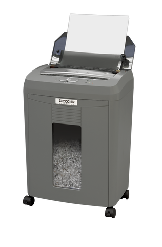 boxis® autoshred® AF80<br>Personal Series<br>80 Sheet Autofeed Microcut Shredder
