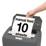 boxis® autoshred® AF140<br>Personal Series<br>140 Sheet Autofeed Microcut Shredder