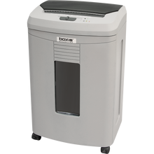 <b>Boxis<sup>®</sup> AutoShred<sup>®</sup> AF100</b><br>A REVOLUTION IN PRODUCTIVITY™<br>100 Sheet Autofeed Microcut Shredder