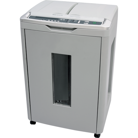 boxis® autoshred® AF250<br>A REVOLUTION IN PRODUCTIVITY®<br>250 Sheet Autofeed Microcut Shredder