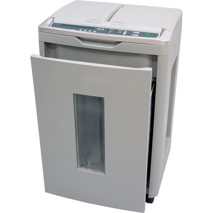 <b>Boxis<sup>®</sup> AutoShred<sup>®</sup> AF650</b><br>A REVOLUTION IN PRODUCTIVITY™<br>650 Sheet Autofeed Microcut Shredder