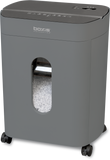 Boxis® NanoShred® BN101P-GUN 10 Sheet Nano-shred® Shredder - Gun Metal<br> THE NEXT EVOLUTION OF PAPER SHREDDERS