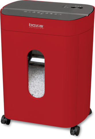 Boxis® Nanoshred® 10 Sheet High Security Nanocut® Shredder - THE NEXT EVOLUTION OF PAPER SHREDDERS
