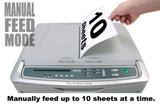 boxis® autoshred® AF350<br>Commercial Series<br>350 Sheet Autofeed Microcut Shredder