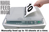 boxis® autoshred® AF500<br>Commercial Series<br>500 Sheet Autofeed Microcut Shredder