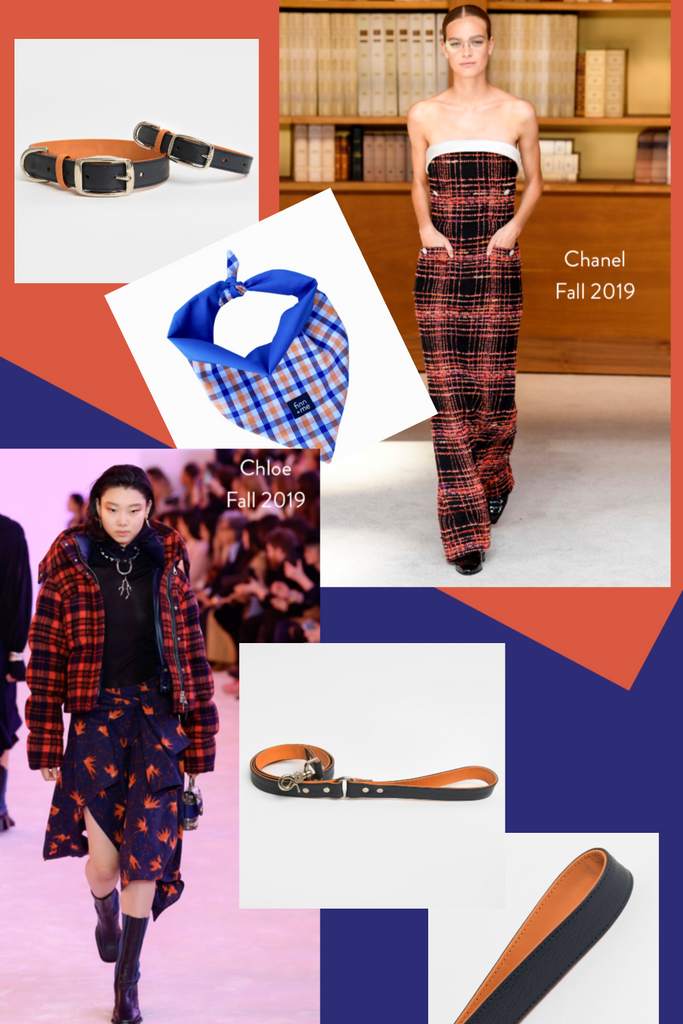 Fall 2019 Trends // Navy + Orange