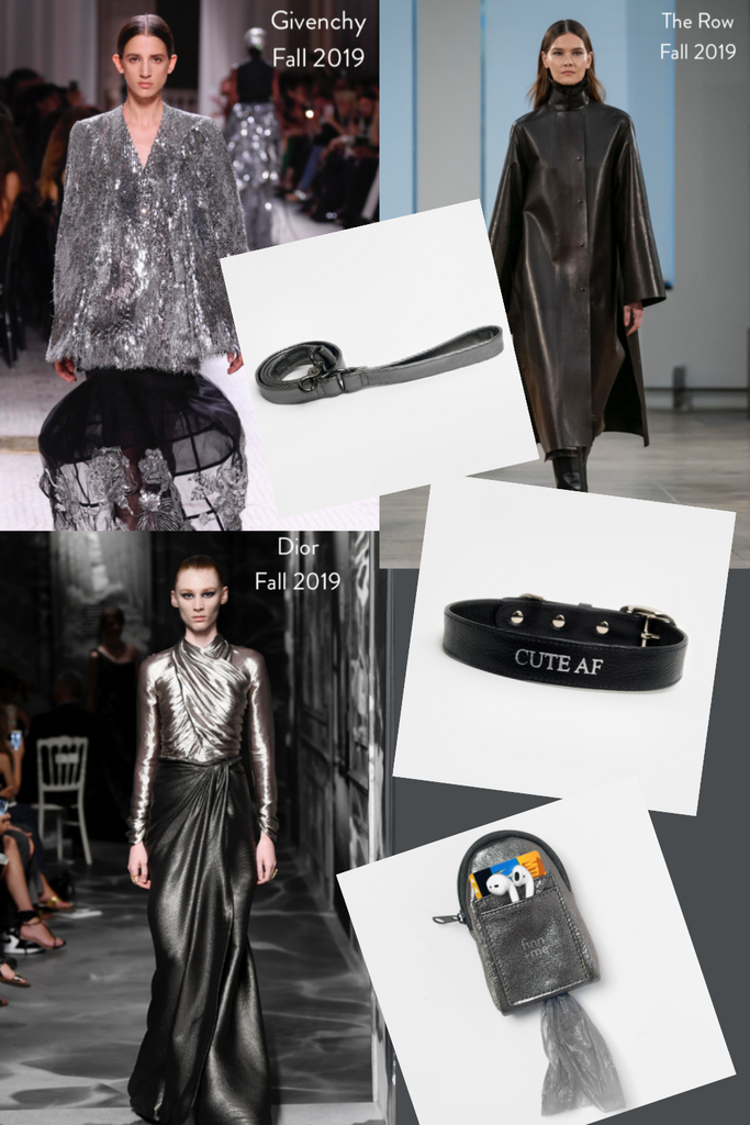 Fall 2019 // Metallics: Black and Gunmetal