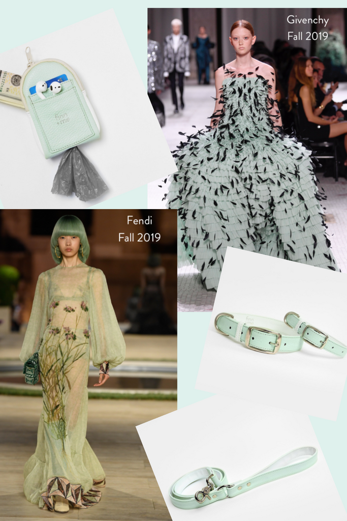 Fall 2019 Trends // Mint Green
