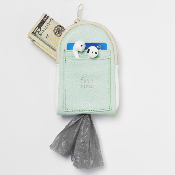The Pooch Purse in Mint