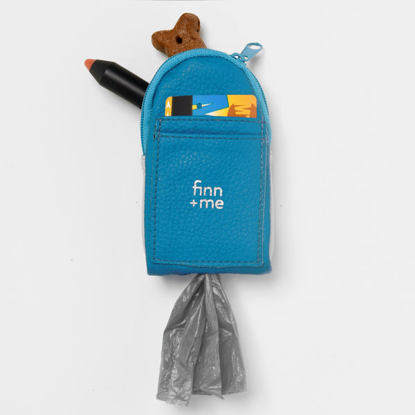 The Pooch Purse in Bright Blue