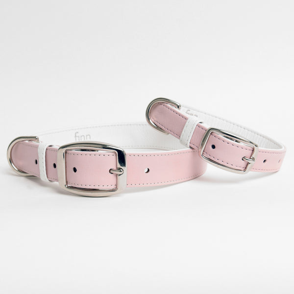 The Finley Collar in Peony Pink