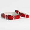 The Finley Collar in Lipstick Red