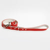 The Raleigh Leash in Lipstick Red