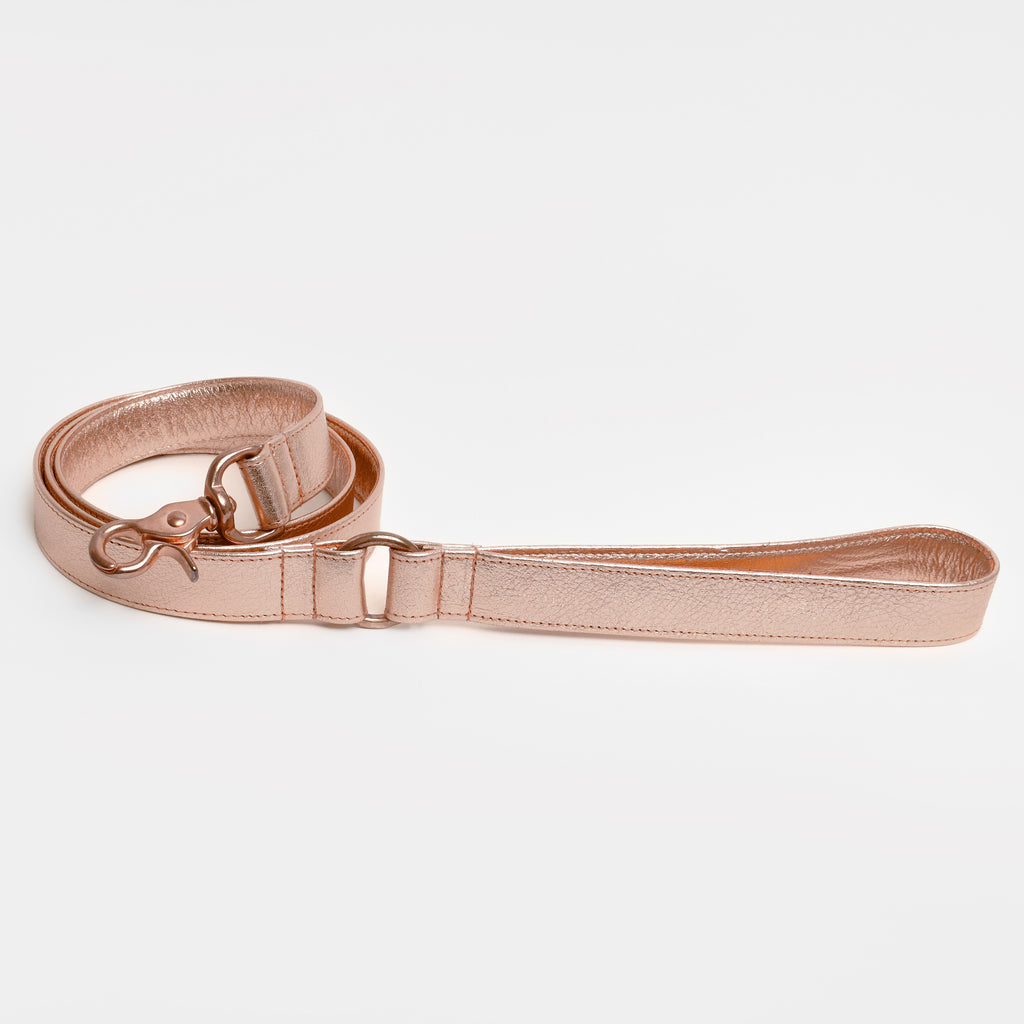 The Raleigh Leash in Rose Gold