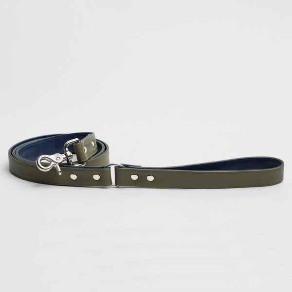The Raleigh Leash in Olive Green