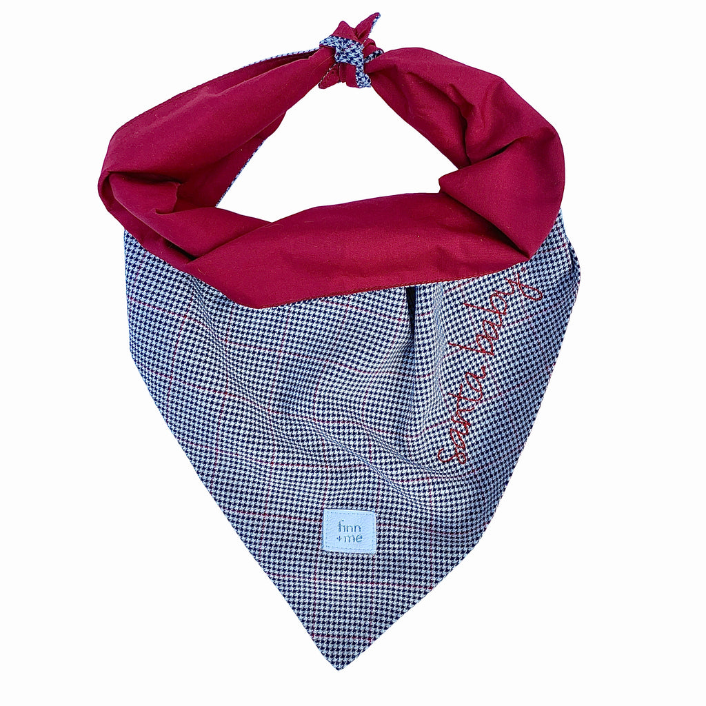 The Modi Holiday Scarf in Santa Baby.