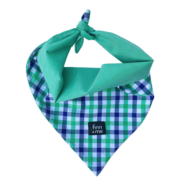 Modi Scarf in Green Checkered