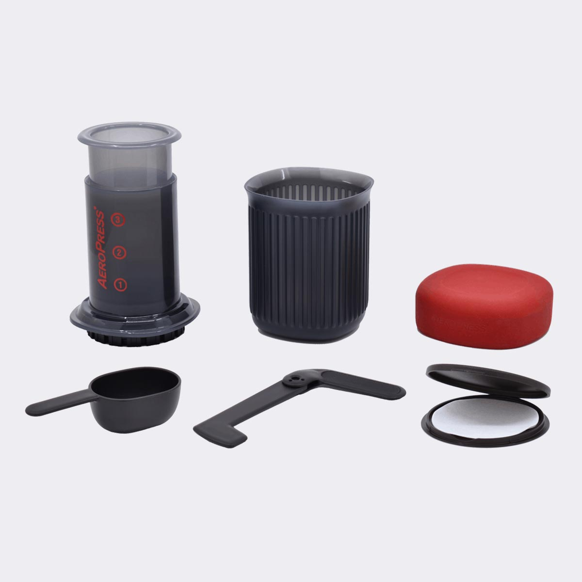 Aeropress GO Travel Coffee Press Kit