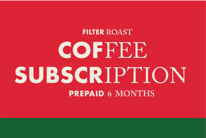 Prepaid BB Coffee Club Subscription - 6 Months [Filter Roast]