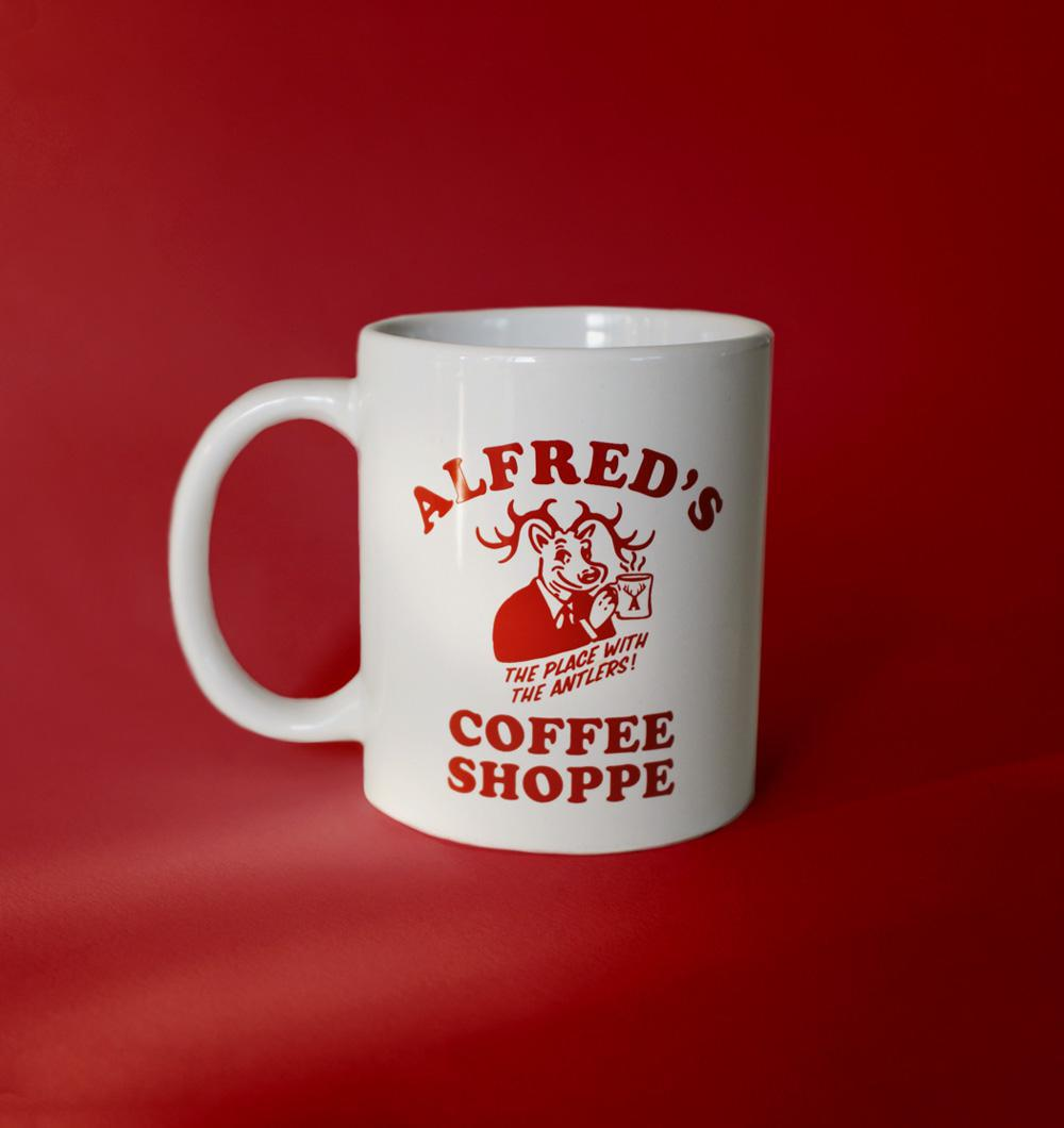 Alfred's Coffee Shoppe Mug