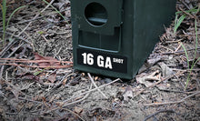 Ammo Label: 16 GA SHOT