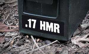 Ammo Label: .17 HMR