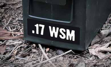 Ammo Label: .17 WSM