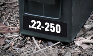 Ammo Label: .22-250
