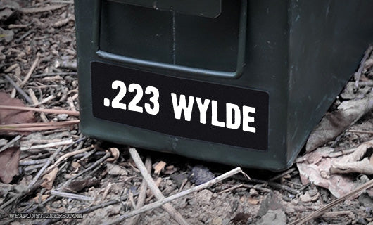 Ammo Label: .223 Wylde
