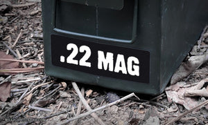 Ammo Label: .22 MAG