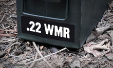 Ammo Label: .22 WMR