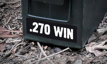 Ammo Label: .270 WIN