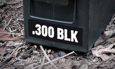 Ammo Label: .300 BLK