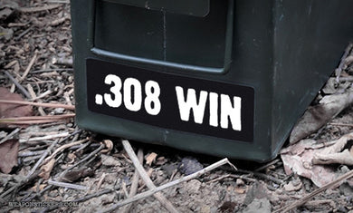 Ammo Label: .308 WIN