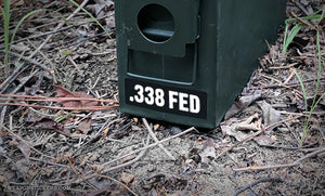 Ammo Label: .338 FED