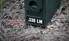 Ammo Label: .338 LM