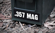 Ammo Label: .357 MAG