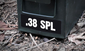 Ammo Label: .38 SPL