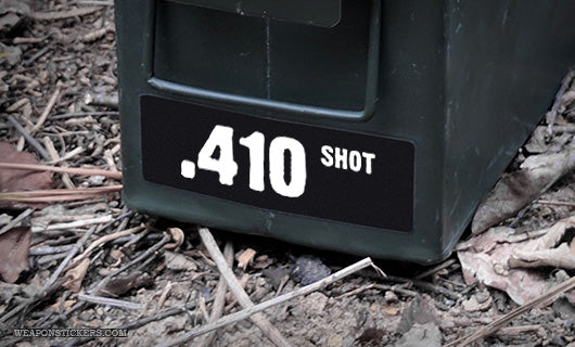 Ammo Label: .410 SHOT
