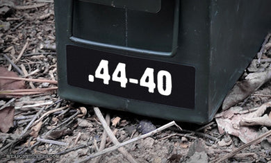 Ammo Label: .44-40