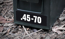 Ammo Label: .45-70