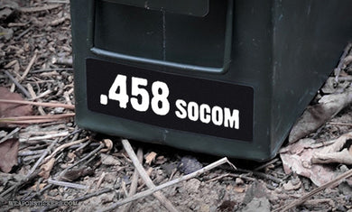 Ammo Label: .458 SOCOM