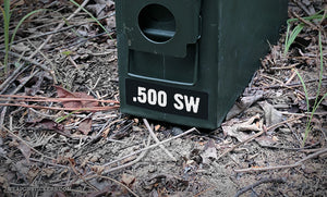 Ammo Label: .500 SW