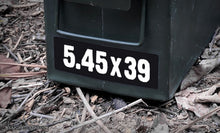 Ammo Label: 5.45x39