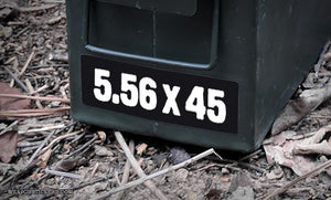 Ammo Label: 5.56x45