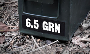 Ammo Label: 6.5 GRN