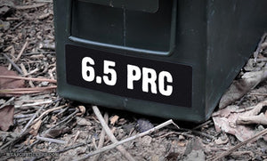 Ammo Label: 6.5 PRC